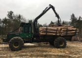 Timberjack Forwarder